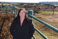 Researching How to Raise Cattle with Less Water