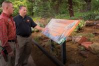 Zoo garden teaches lessons about water conservation and  drought-tolerant plants